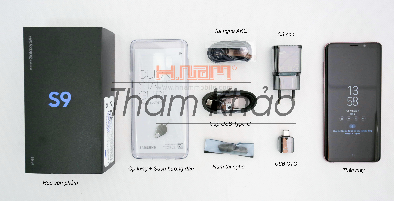 Samsung Galaxy S9 G960 hình sản phẩm 1