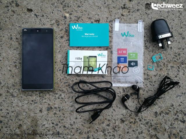 Wiko Robby Ram 1GB hình sản phẩm 0