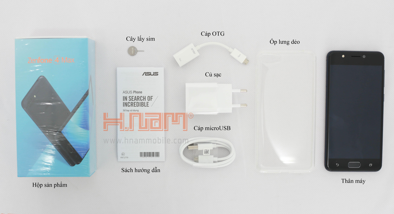 Asus Zenfone 4 Max ZC520KL hình sản phẩm 0