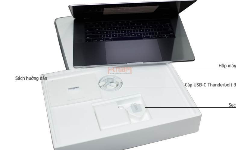 MacBook Pro MPXX2 13 inch 2017 256GB Touch Bar Silver hình sản phẩm 0
