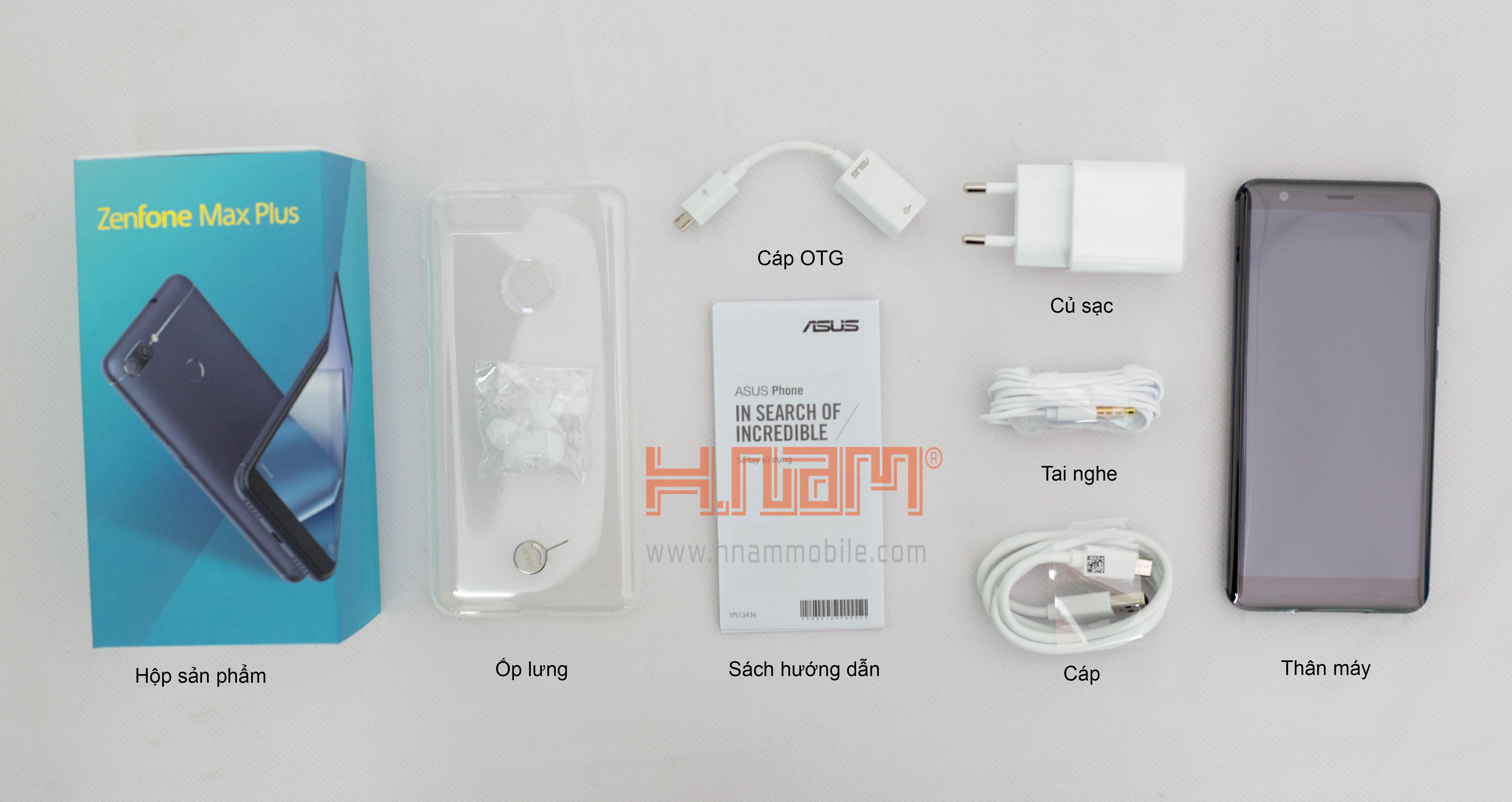 Asus Zenfone Max Plus M1 ZB570TL hình sản phẩm 0