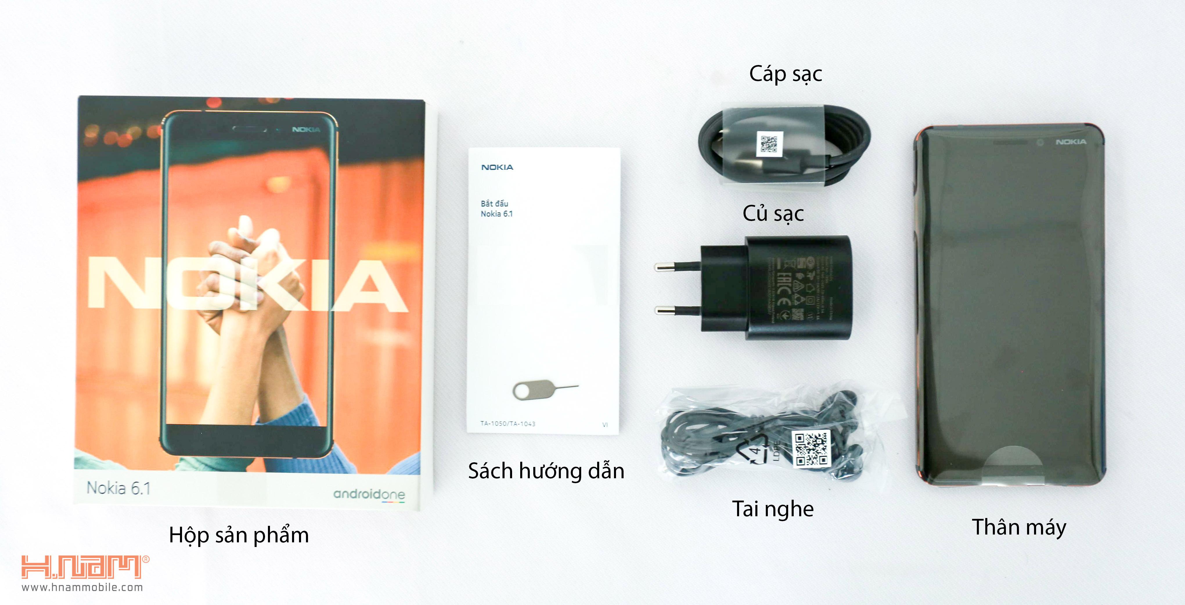 Nokia 6 2018 hình sản phẩm 1