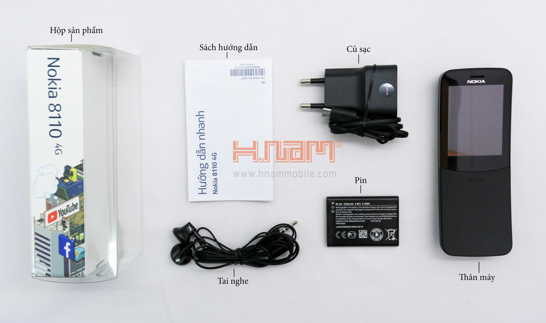 Nokia 8110 4G hình sản phẩm 1
