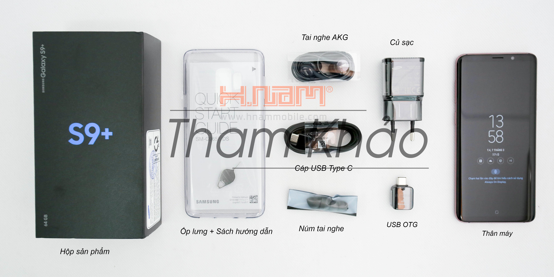 Samsung Galaxy S9 Plus G965 128Gb hình sản phẩm 1