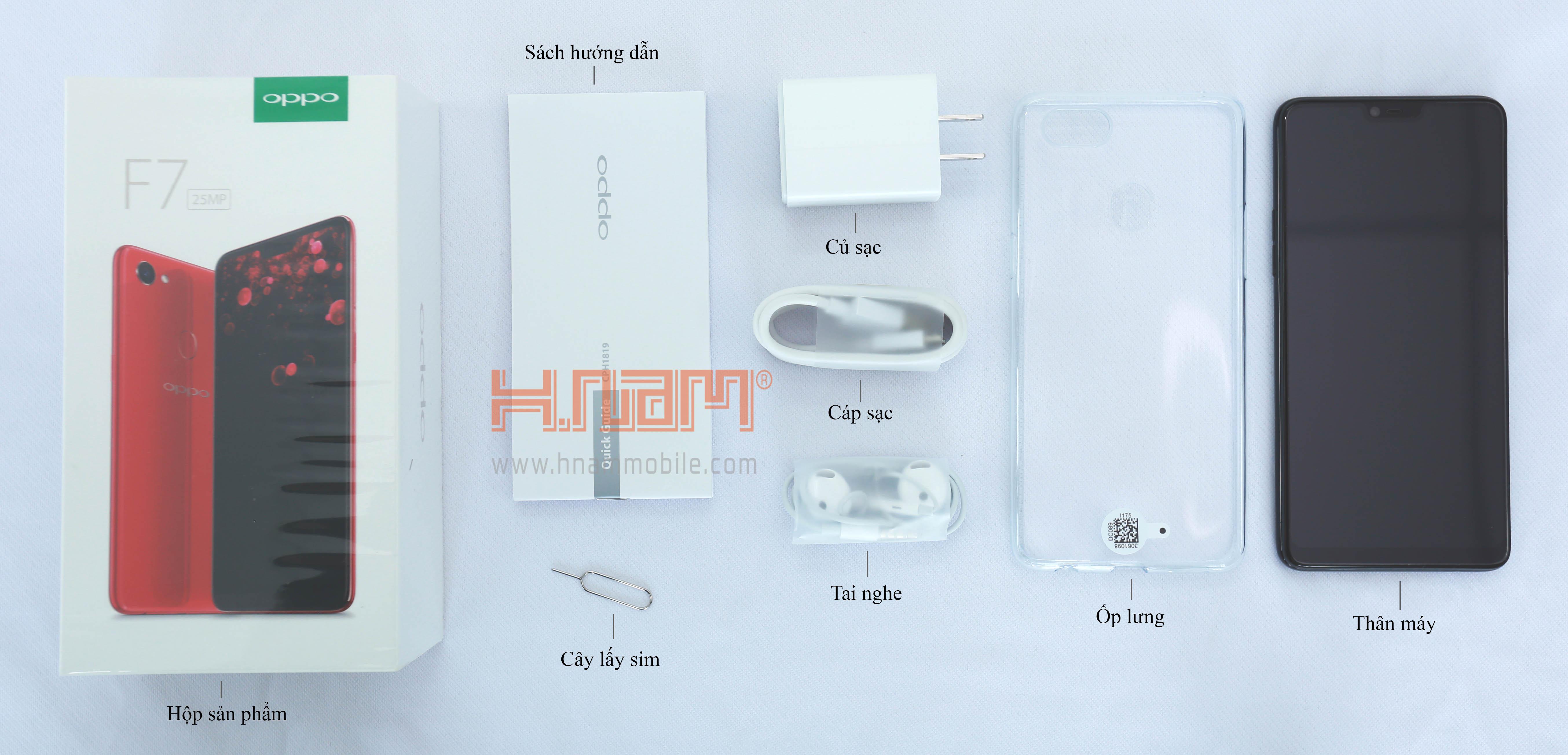 Oppo F7 128Gb hình sản phẩm 1