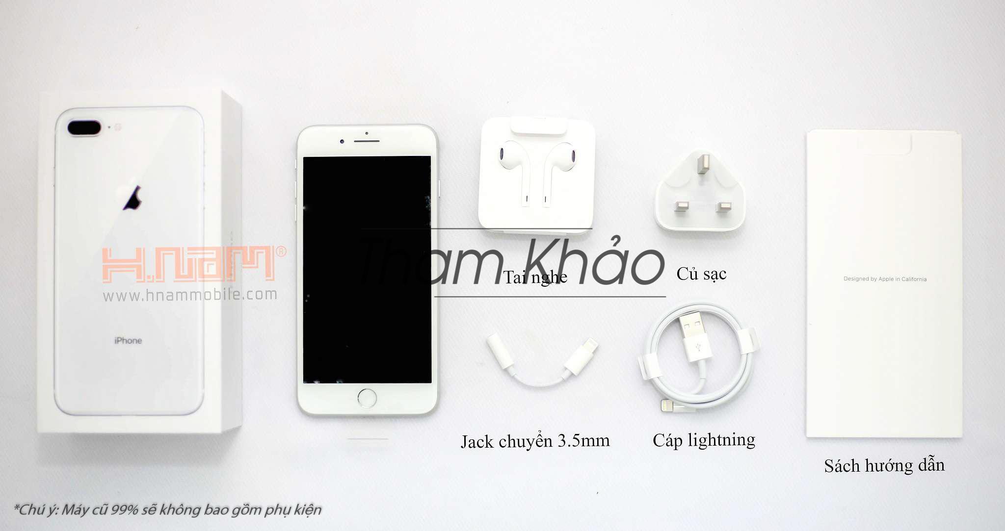 Apple iPhone 8 Plus 256Gb ( 89 TQK ) hình sản phẩm 0