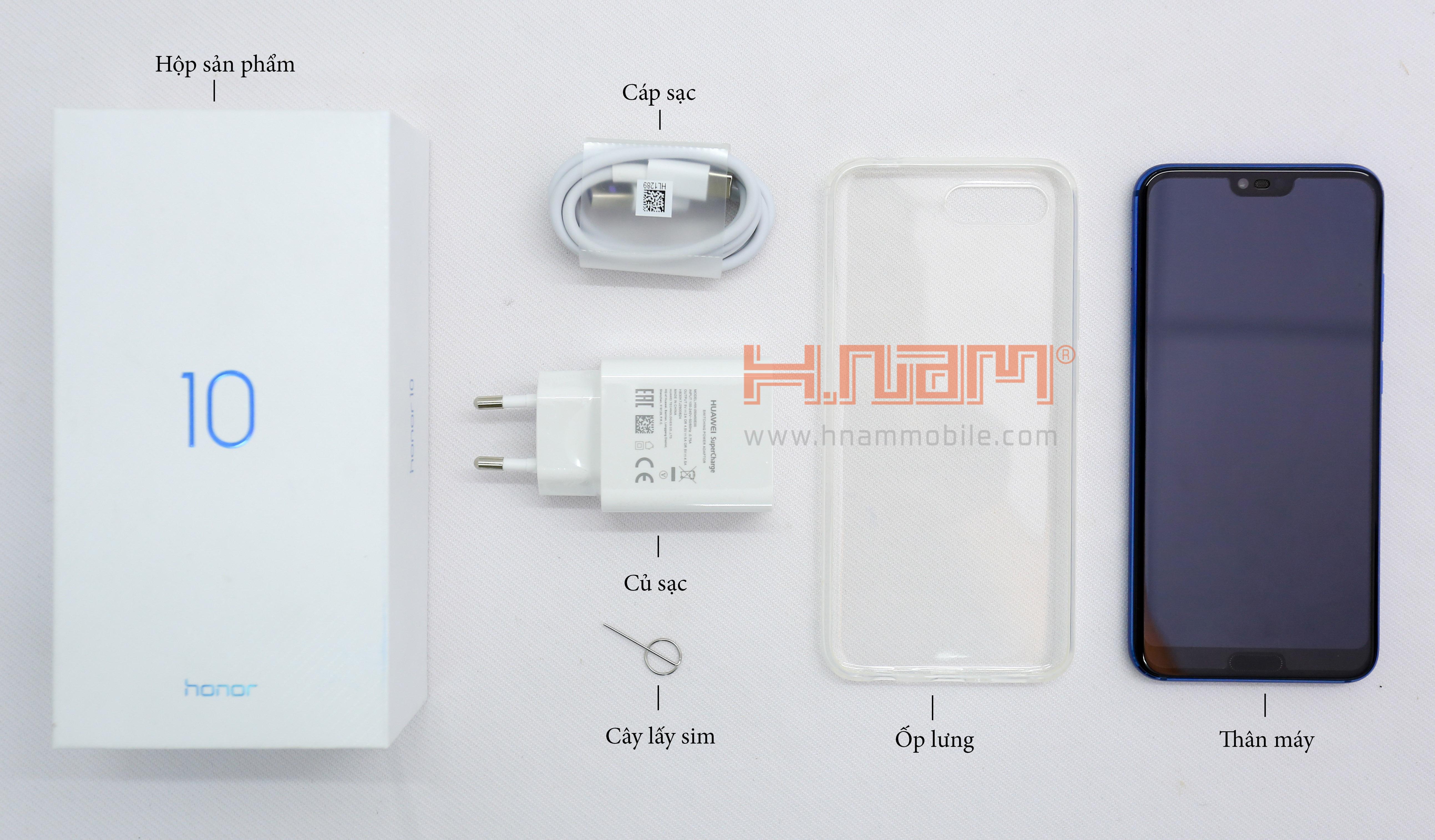 Honor 10 128Gb Ram 4Gb hình sản phẩm 1