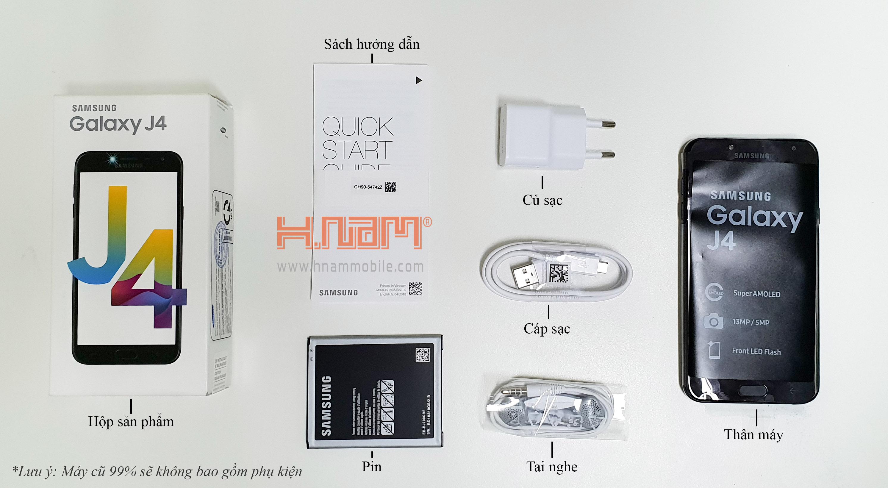 Samsung Galaxy J4 2018 J400 hình sản phẩm 0