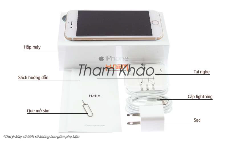 Apple iPhone 6S 64Gb Rose Gold hình sản phẩm 0