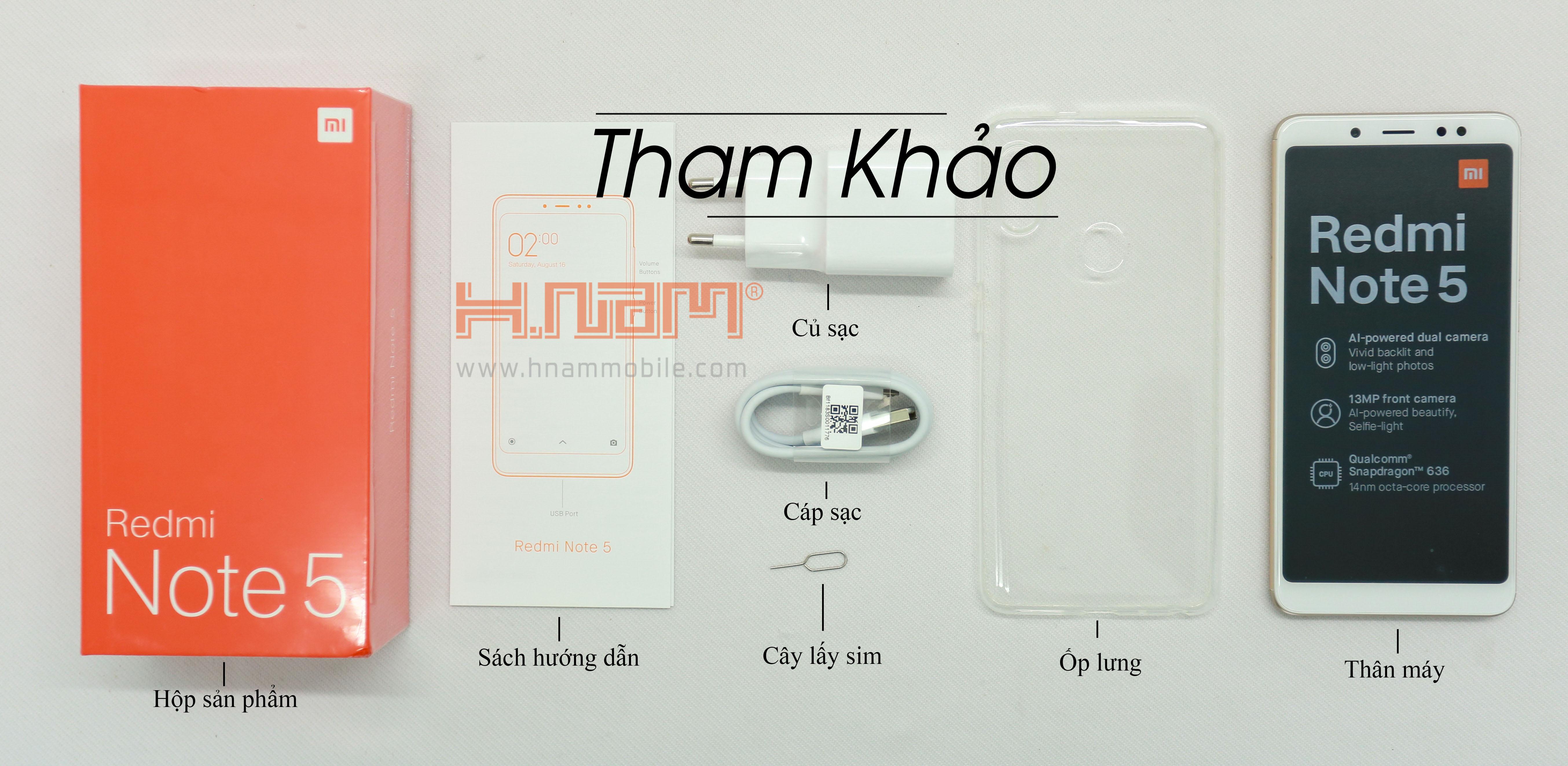 Xiaomi Redmi Note 5 64Gb Ram 4Gb Likenew hình sản phẩm 1