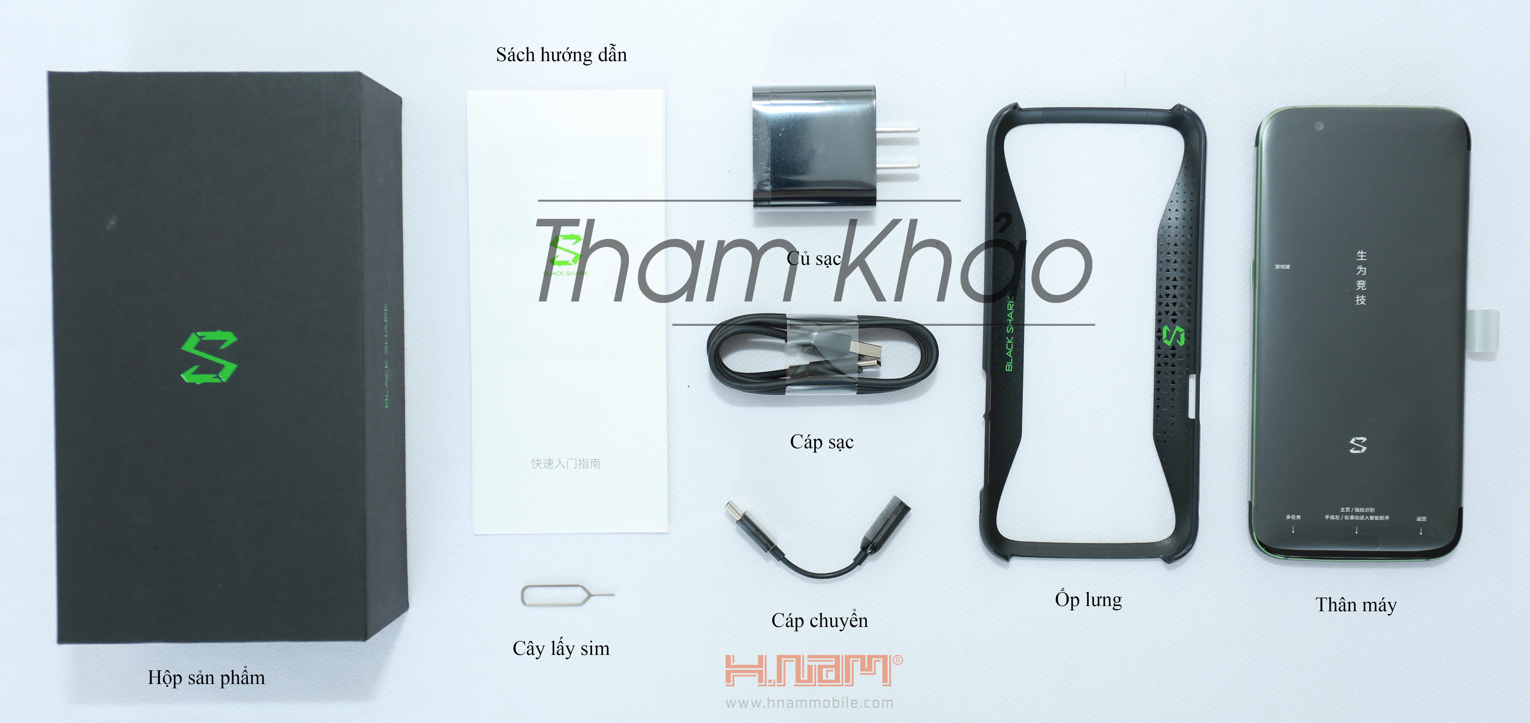 Xiaomi Black Shark 128Gb Ram 8Gb hình sản phẩm 0