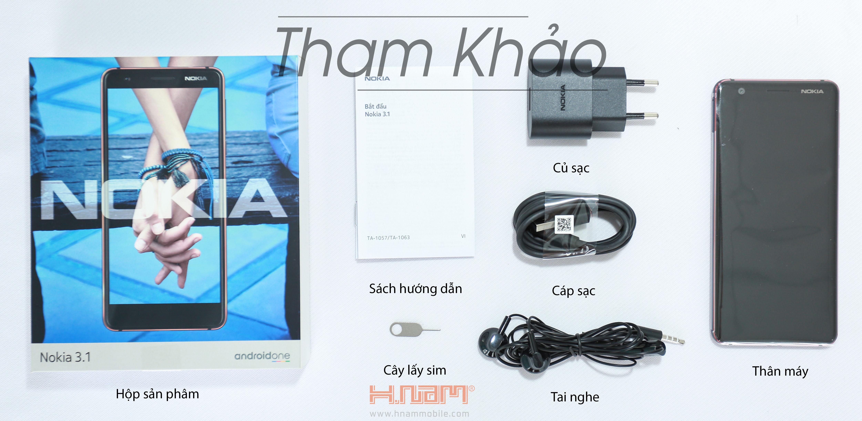 Nokia 3.1 16GB Ram 2GB hình sản phẩm 0