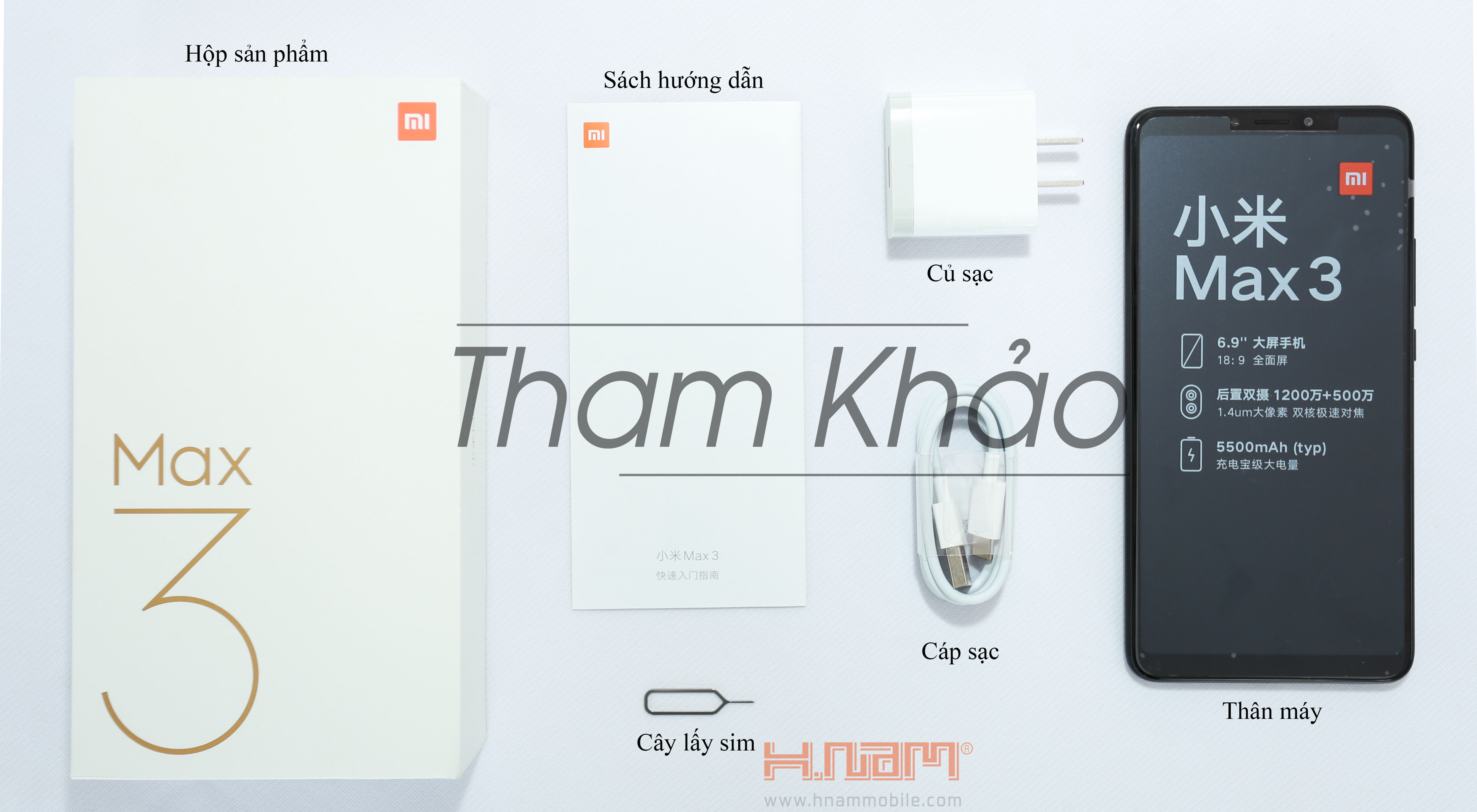 Xiaomi Mi Max 3 64Gb Ram 4Gb hình sản phẩm 0