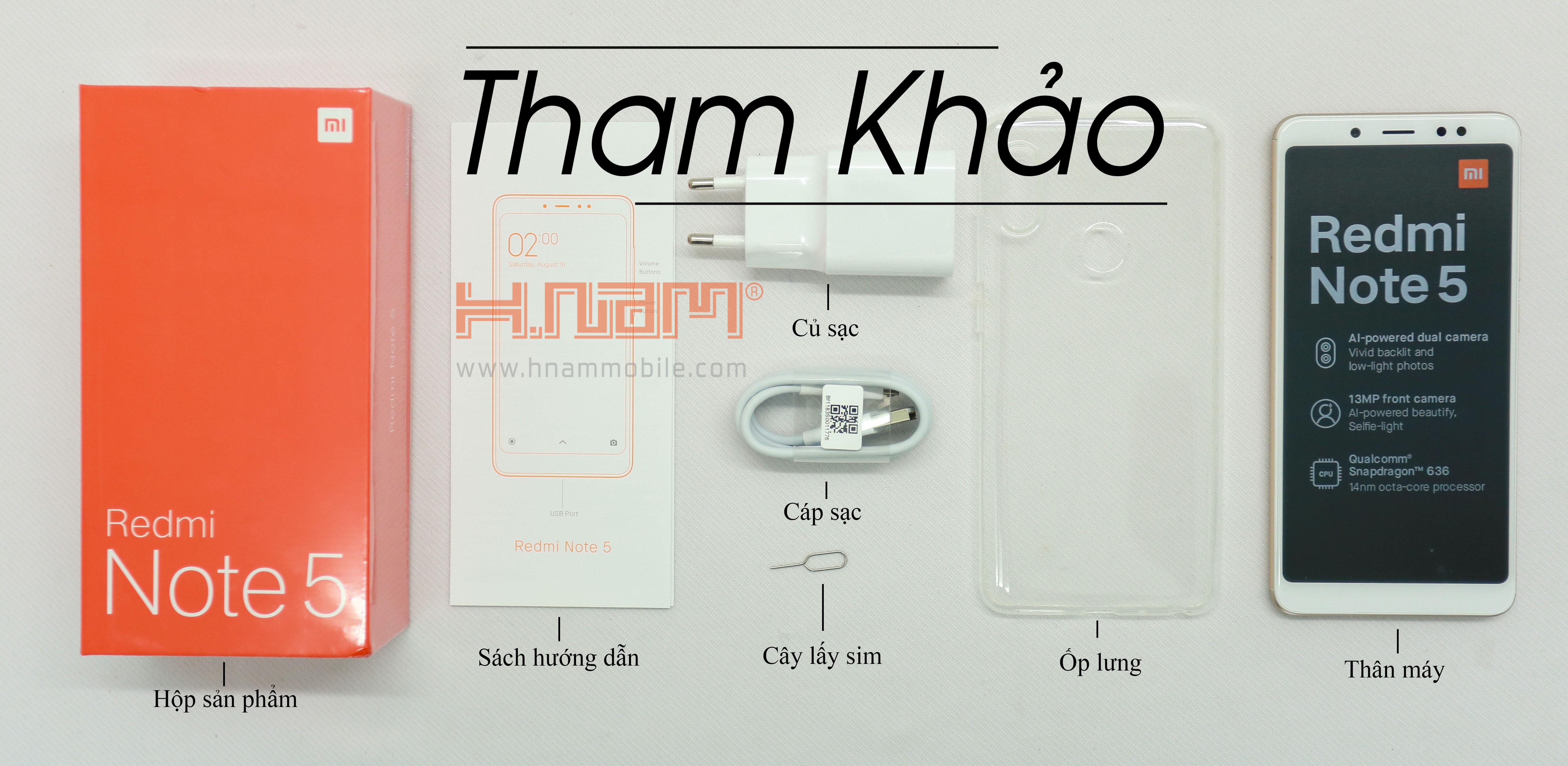Xiaomi Redmi Note 5 64Gb Ram 4Gb hình sản phẩm 0