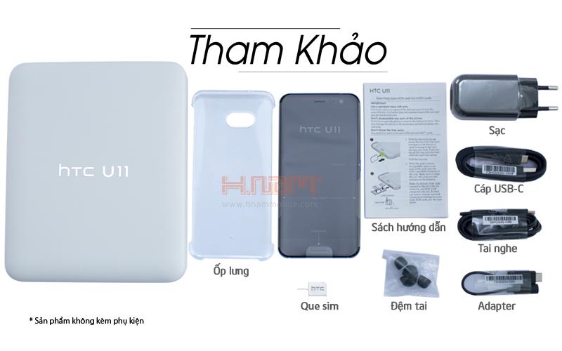 HTC U11 64Gb Ram 4Gb 2 Sim 99 ( 67 Trần Quang Khải ) hình sản phẩm 0