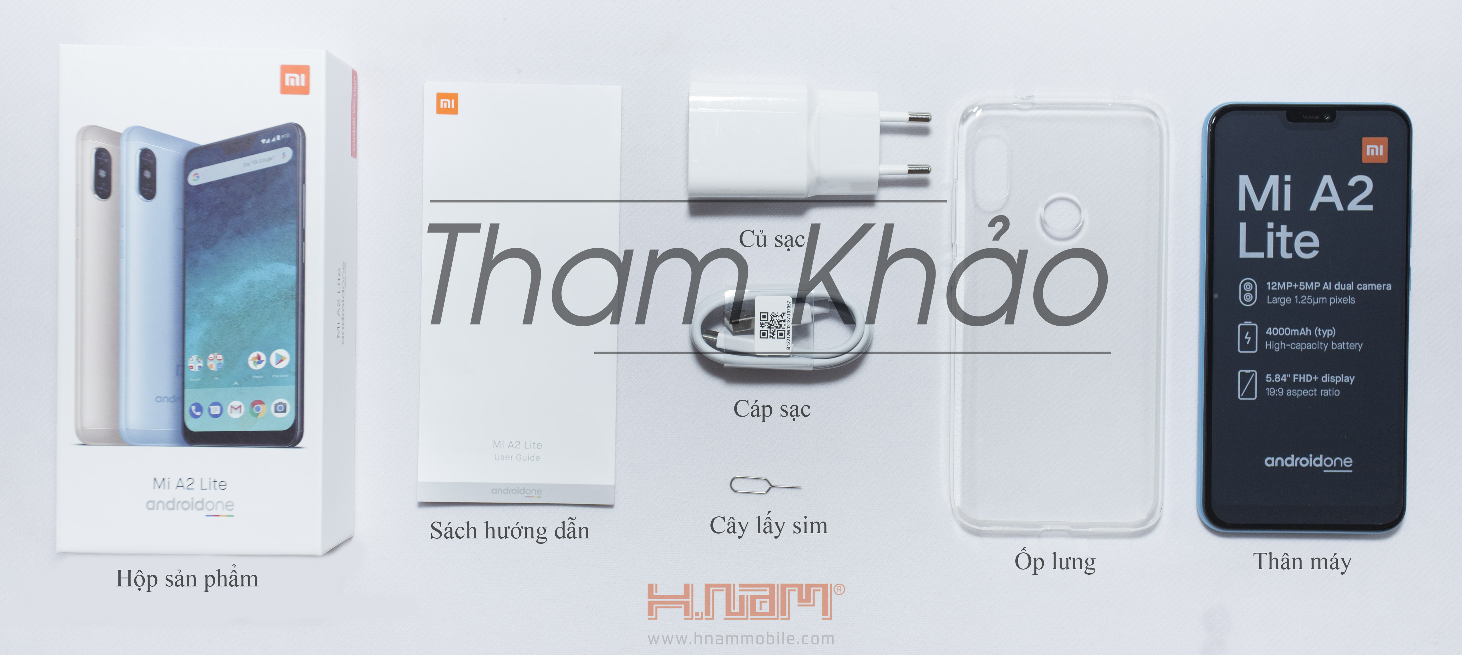 Xiaomi Mi A2 Lite 32Gb Ram 3Gb hình sản phẩm 0