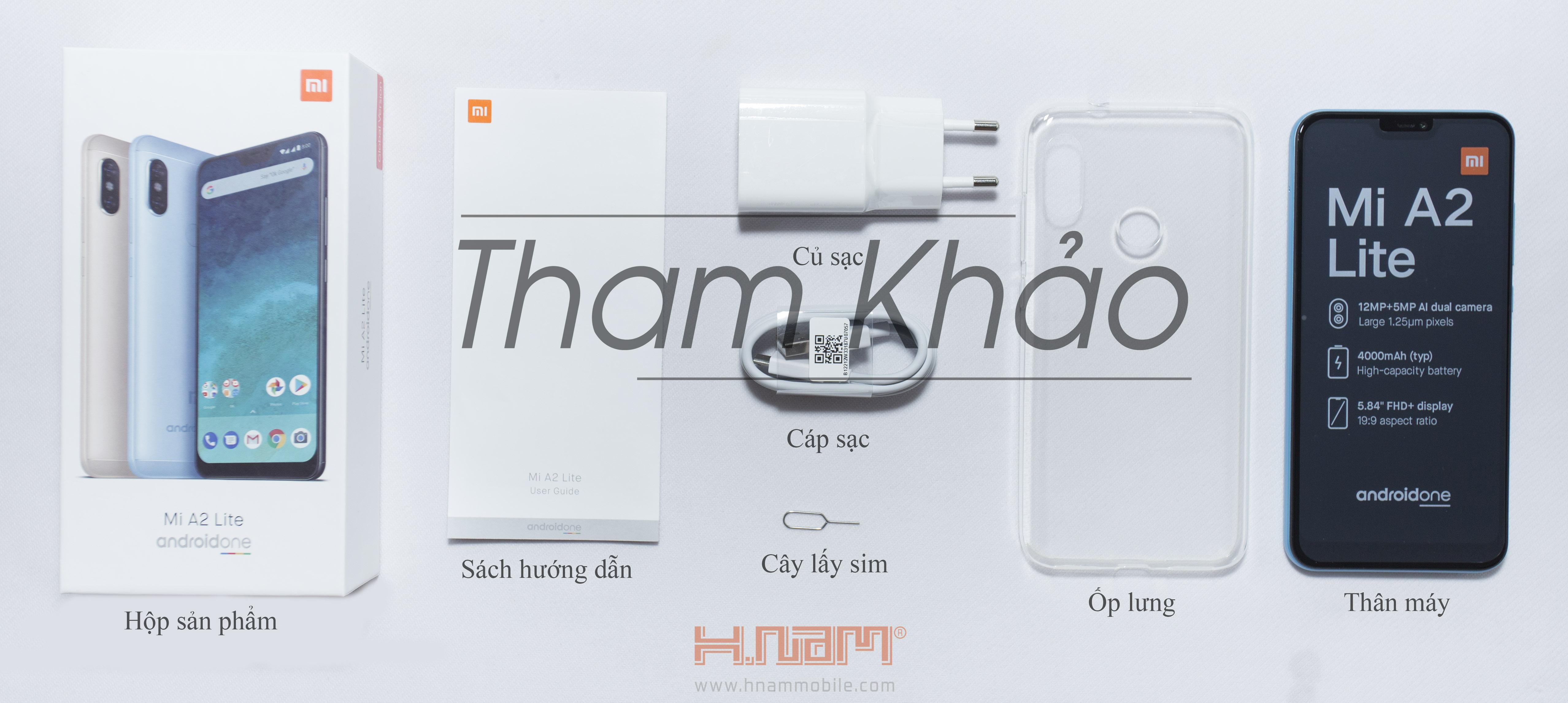 Xiaomi Mi A2 Lite 64Gb Ram 4Gb hình sản phẩm 0