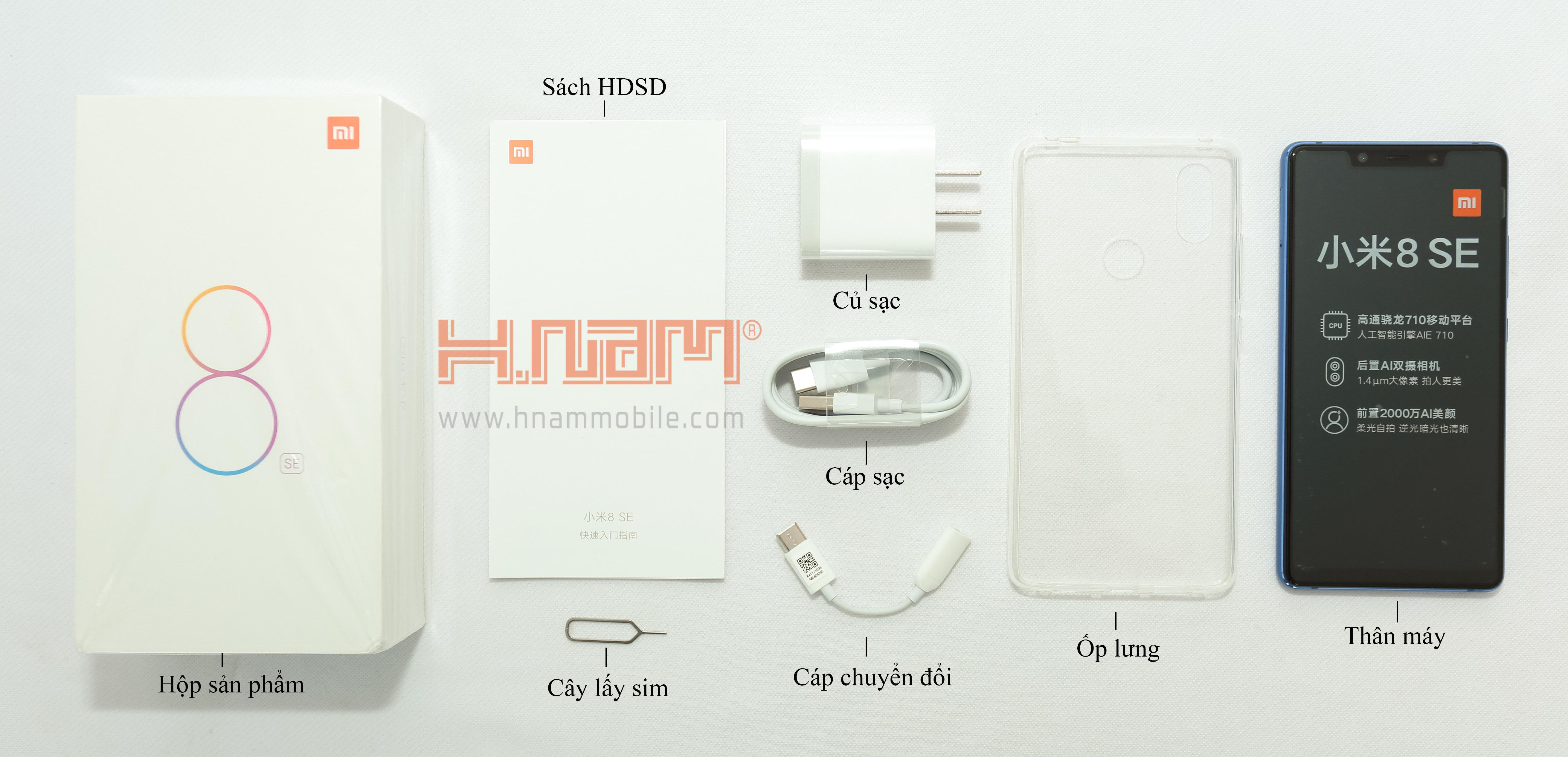 Xiaomi Mi 8 SE 64GB Ram 4GB hình sản phẩm 0