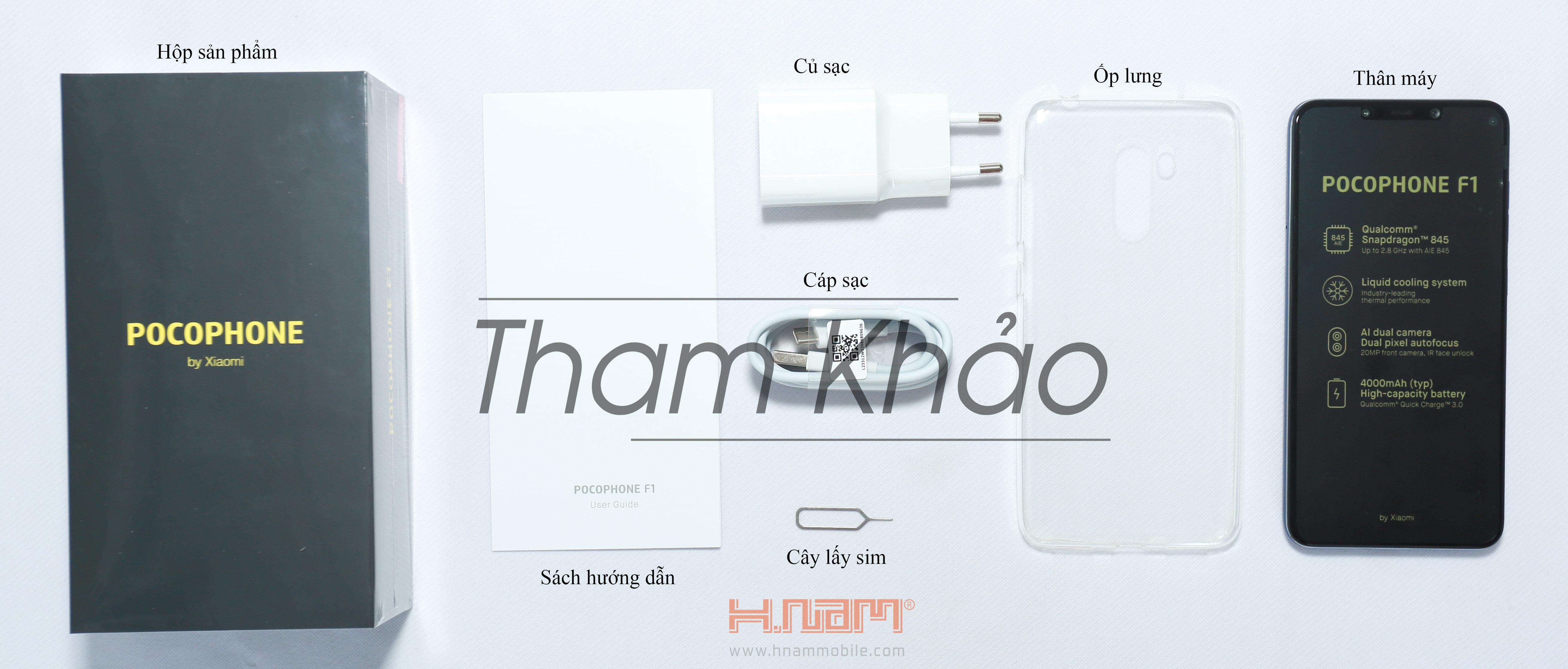 Xiaomi PocoPhone F1 64Gb Ram 6Gb hình sản phẩm 0