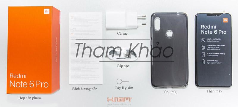 Xiaomi Redmi Note 6 Pro 64Gb Ram 4Gb hình sản phẩm 0