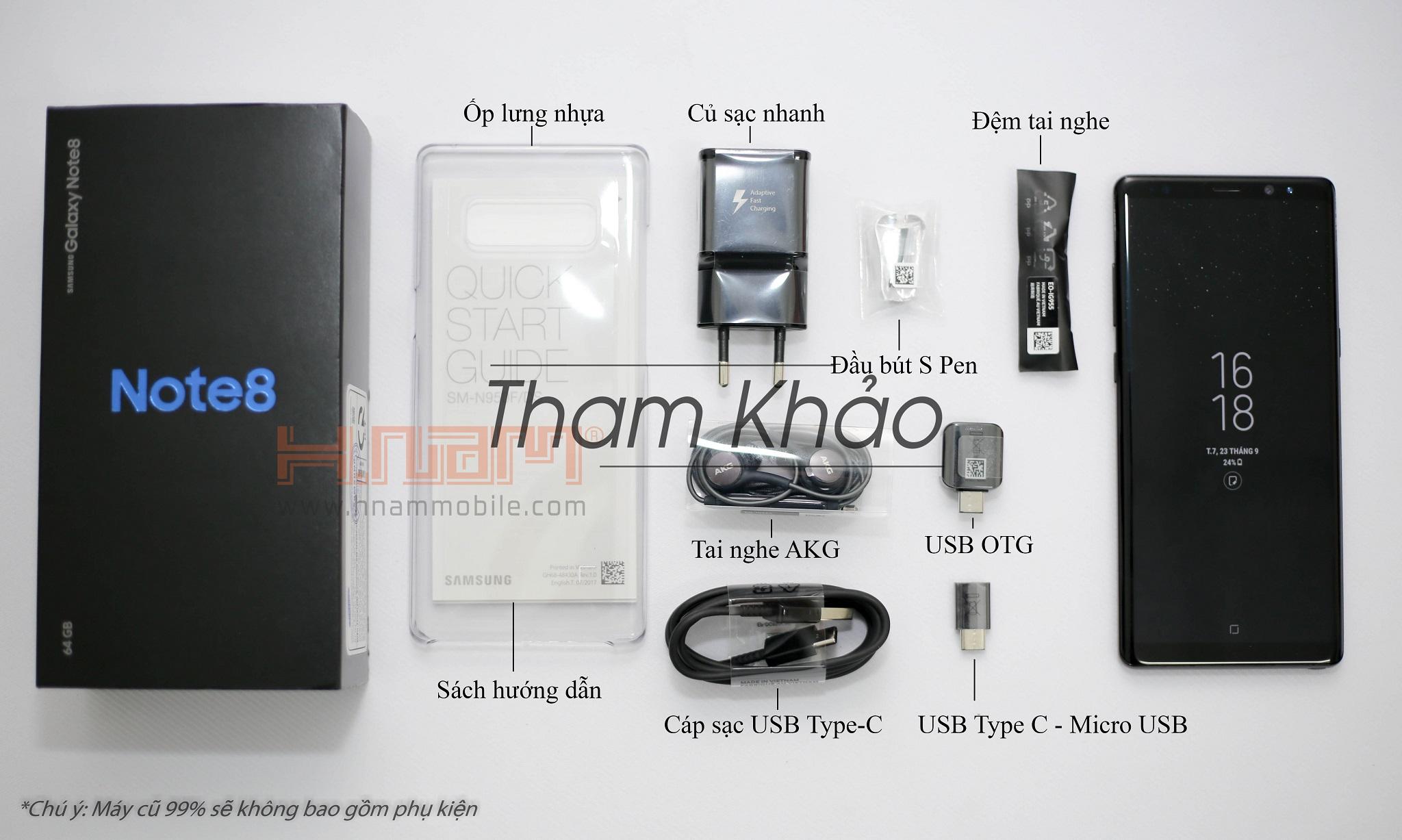 Samsung galaxy Note 8 64G Hàn Quốc ( 654 LHP ) hình sản phẩm 0