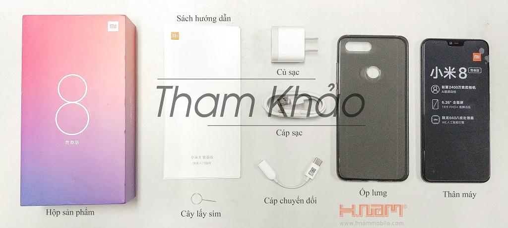 Xiaomi Mi 8 Lite 64Gb Ram 6Gb hình sản phẩm 0