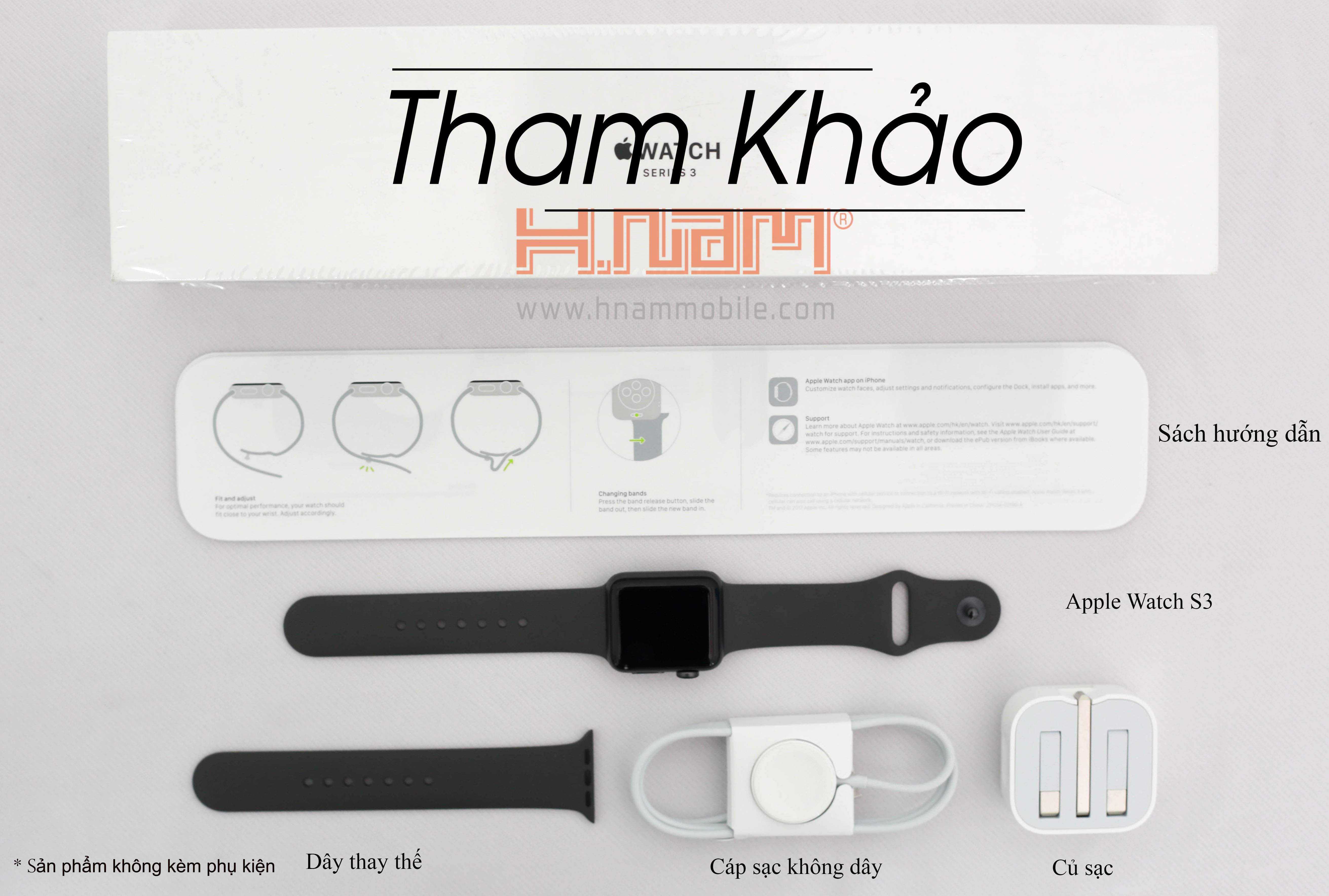 Apple Watch Series 3 42mm Pink LTE hình sản phẩm 0