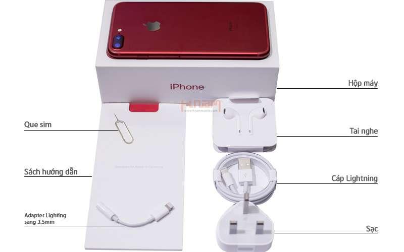 Apple iPhone 7 Plus 128Gb Red hình sản phẩm 0