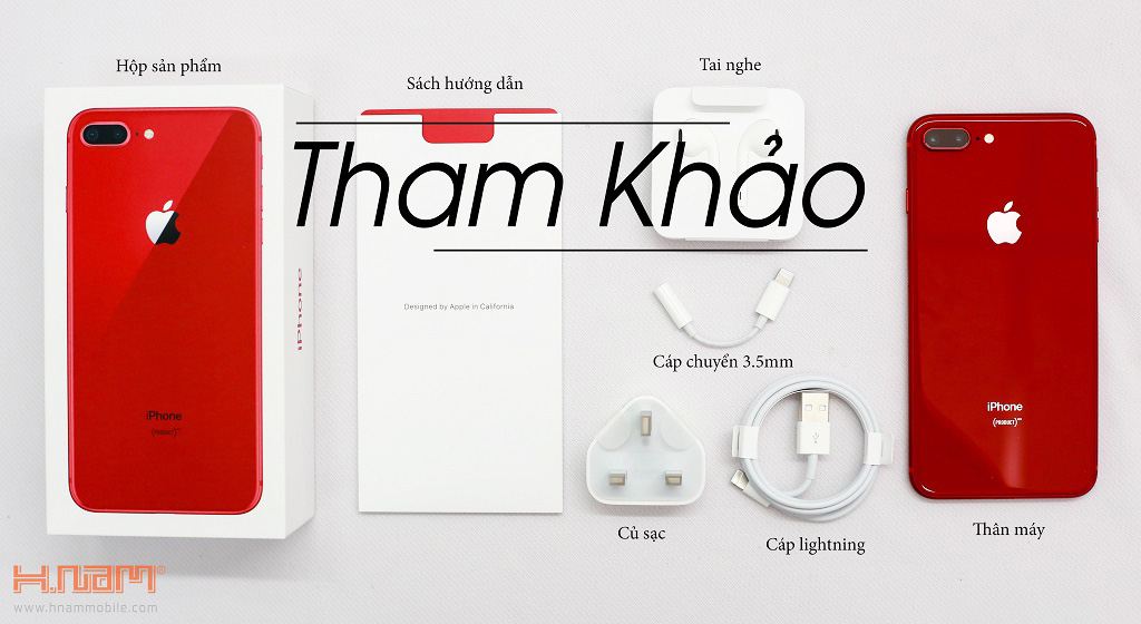 Apple iPhone 8 Plus 64Gb Red hình sản phẩm 0