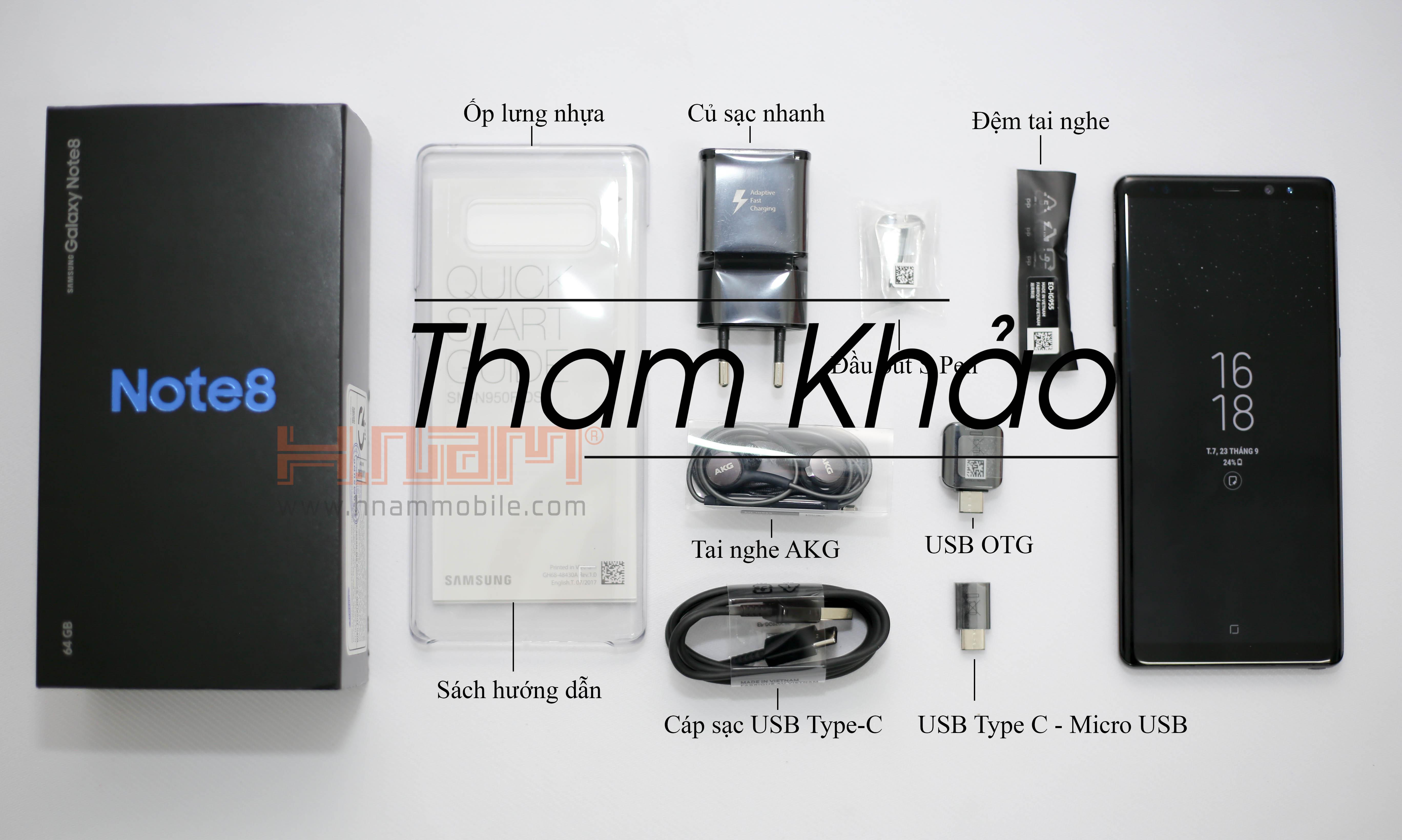 Samsung Galaxy Note 8 64Gb N950 Mỹ ( New 100% ) hình sản phẩm 0