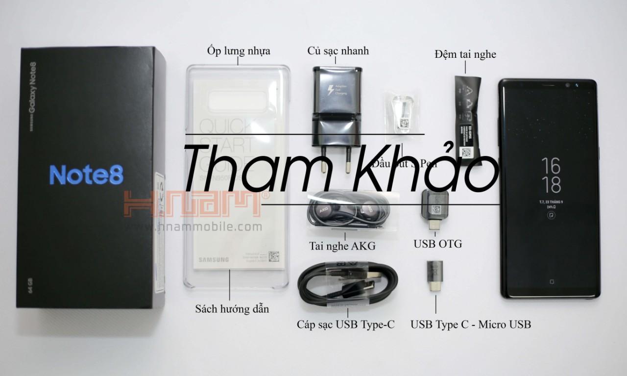 Samsung Galaxy Note 8 64Gb N950 Quốc Tế ( 112 Võ Văn Ngân ) hình sản phẩm 0
