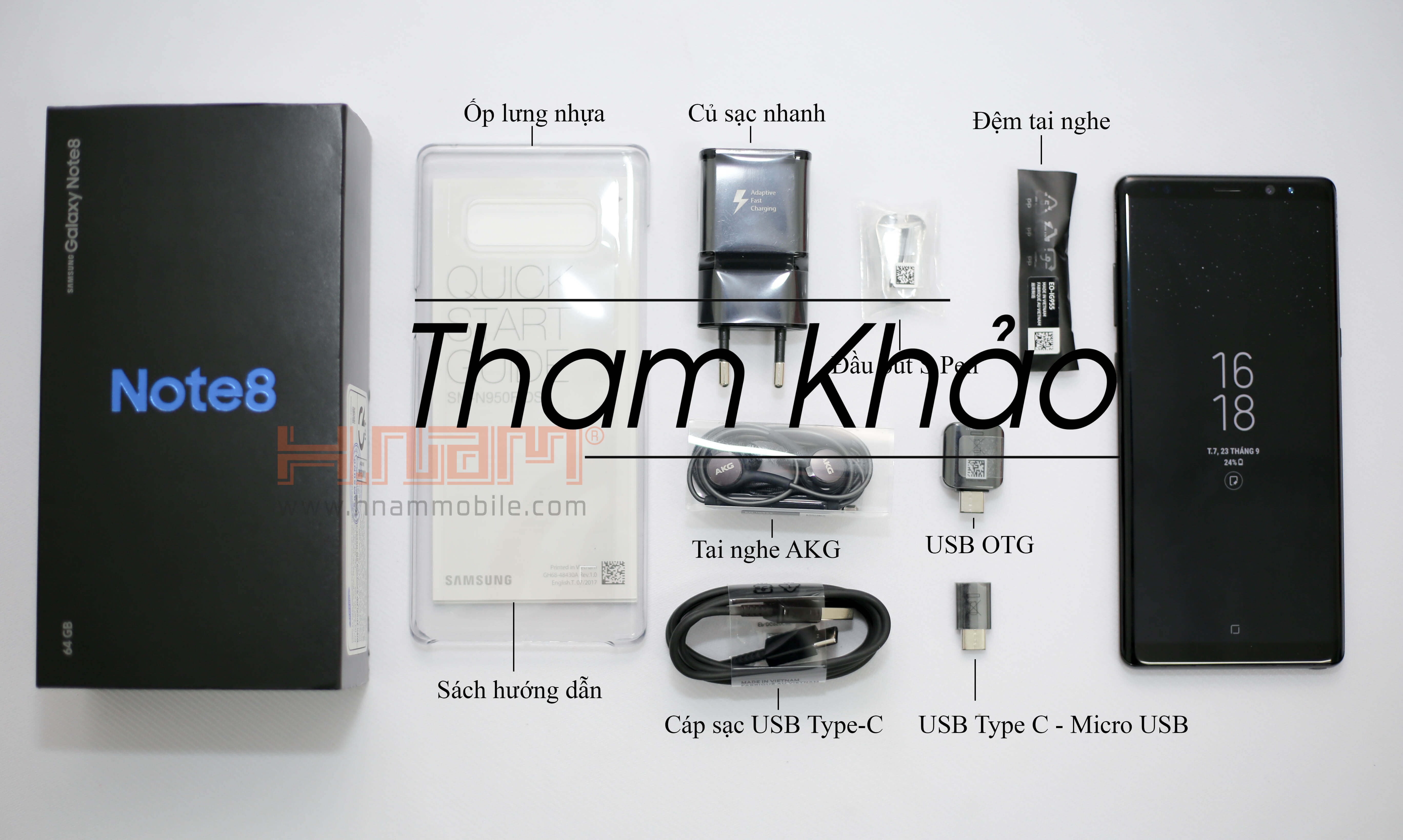 Samsung Galaxy Note 8 N950 ( 492 NGT ) hình sản phẩm 0