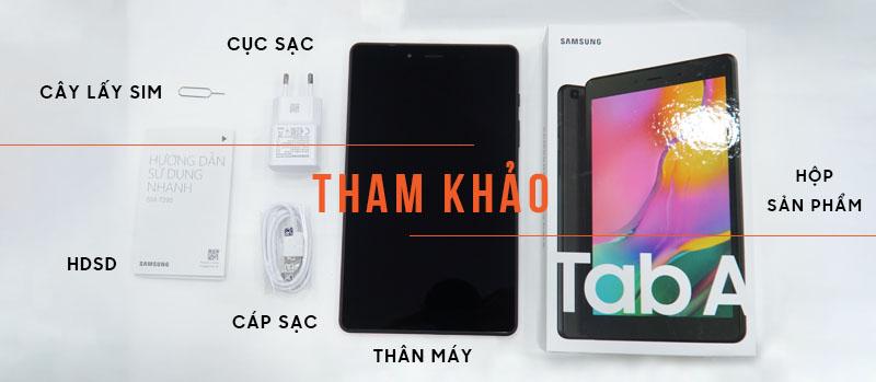 Samsung Galaxy Tab A8 8 T295 2019 ( Đã kích hoạt ) hình sản phẩm 0