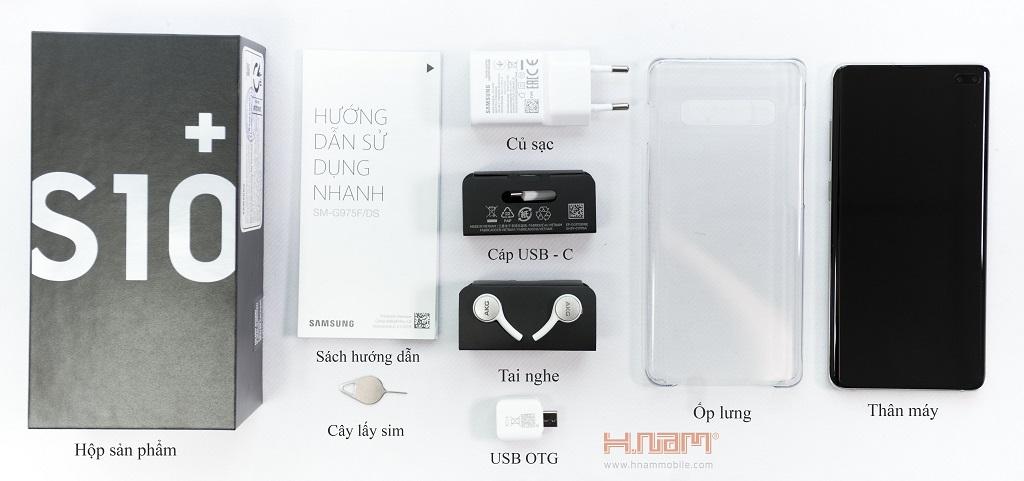Samsung Galaxy S10 Plus G975 128 GB ( 654 Lê Hồng Phong ) hình sản phẩm 0