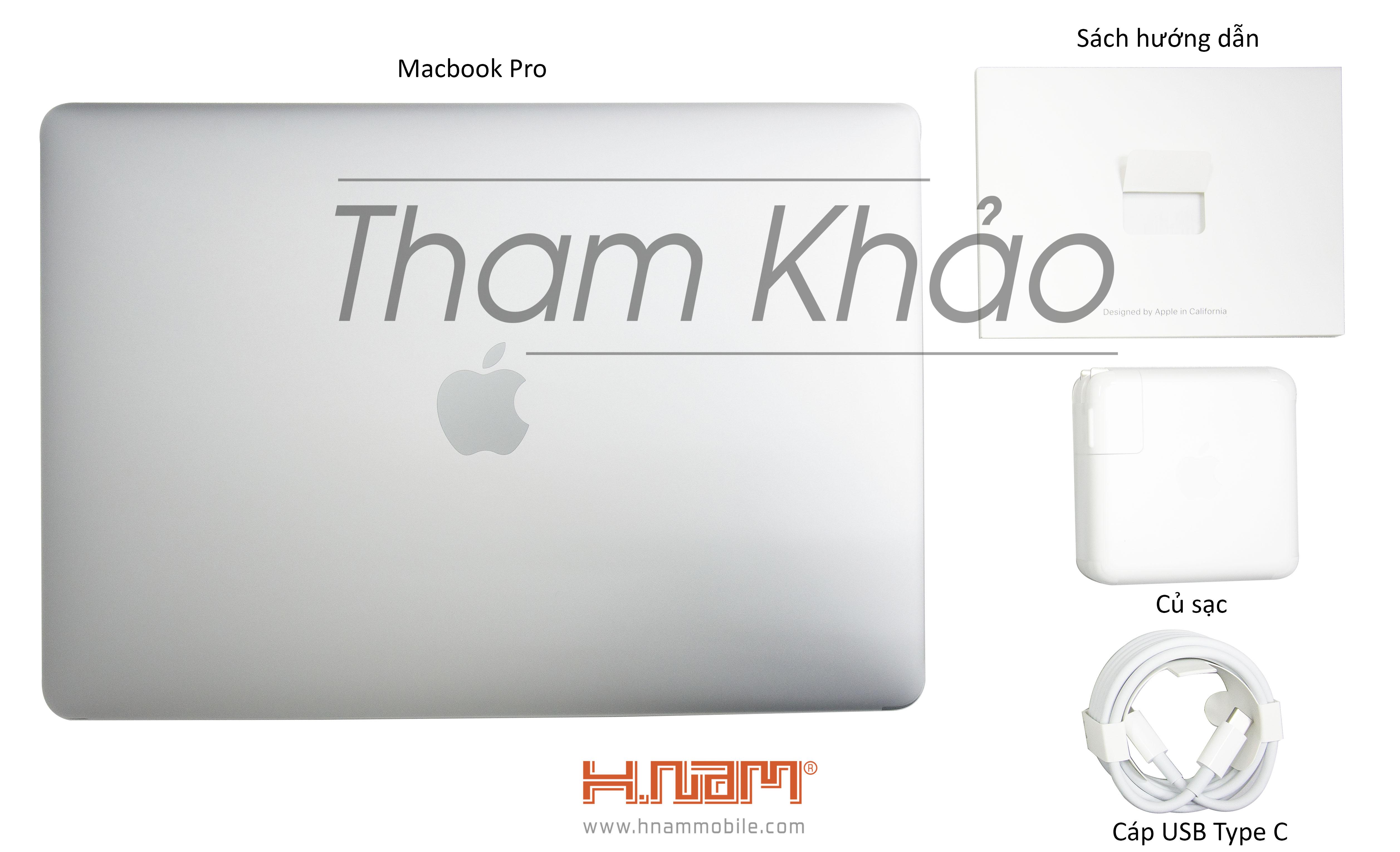 MacBook Pro 13 inch Touch Bar 2019 MUHQ2 128GB Silver hình sản phẩm 0