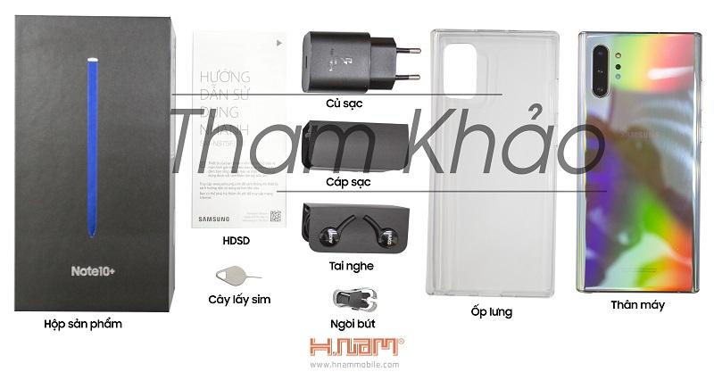 Samsung Galaxy Note 10 Plus N975 256GB Blue hình sản phẩm 0