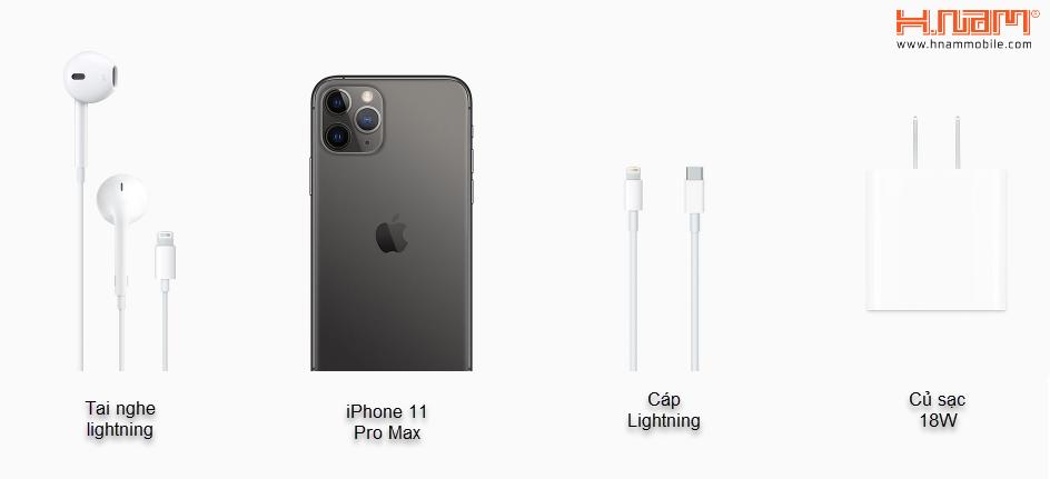 Apple iPhone 11 Pro Max 1 Sim 256GB hình sản phẩm 0