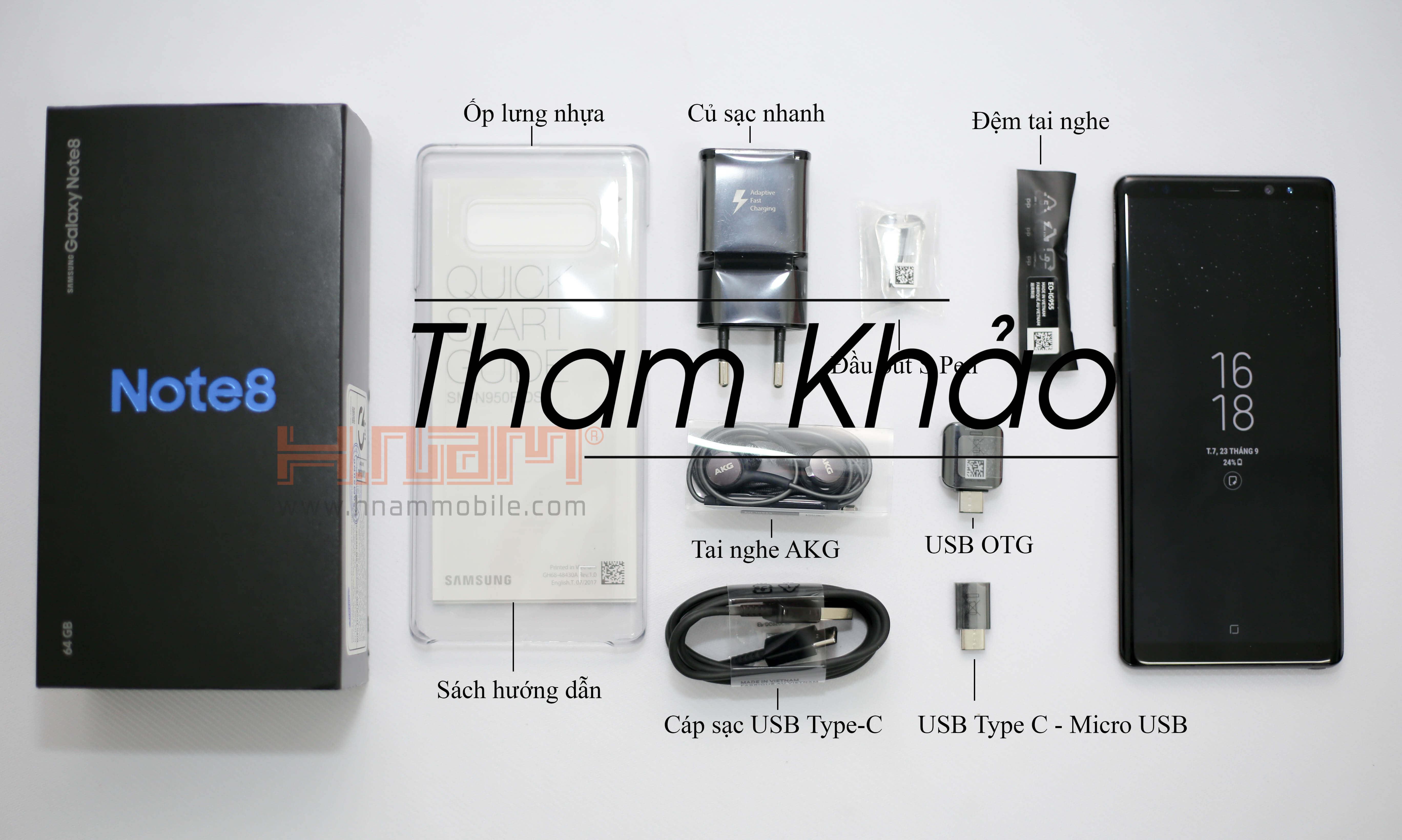 Samsung Galaxy Note 8 64Gb N950 Hàn Quốc ( 1047 Hồng Bàng ) hình sản phẩm 0