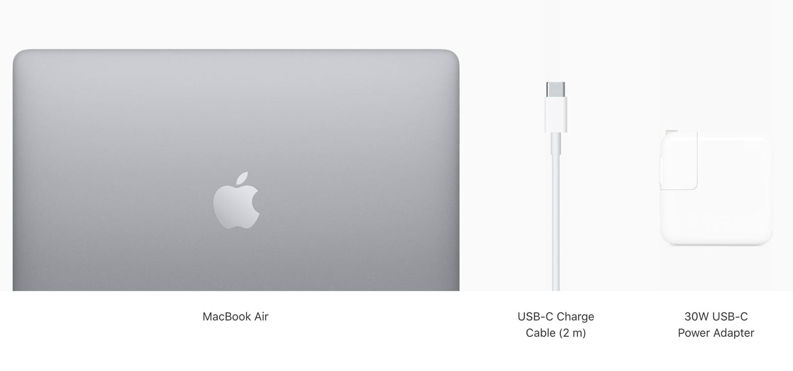 MacBook Air 13 inch 2020 256 GB MWTJ2 Gray hình sản phẩm 0