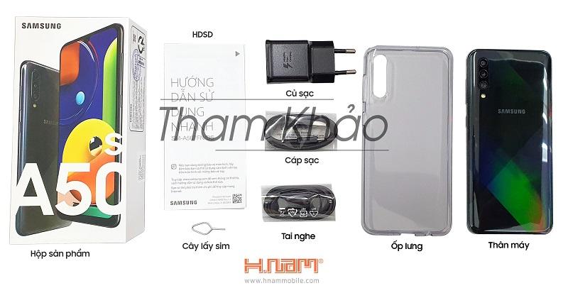 Samsung Galaxy A50s A507 - Green hình sản phẩm 0