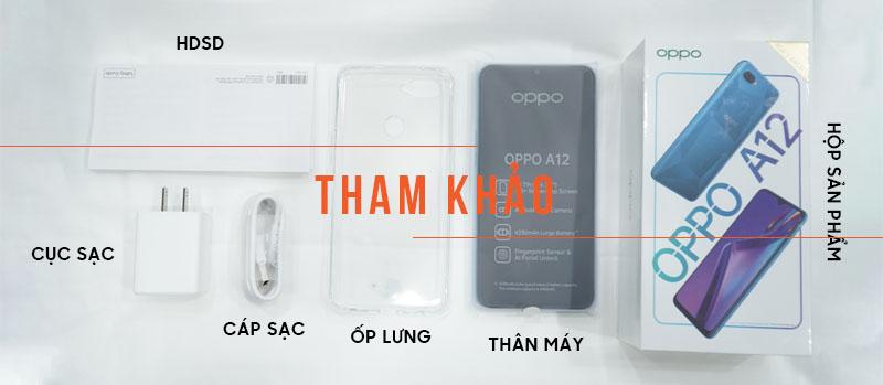 Oppo A12 64GB Ram 4GB ( Đã kích hoạt ) hình sản phẩm 0