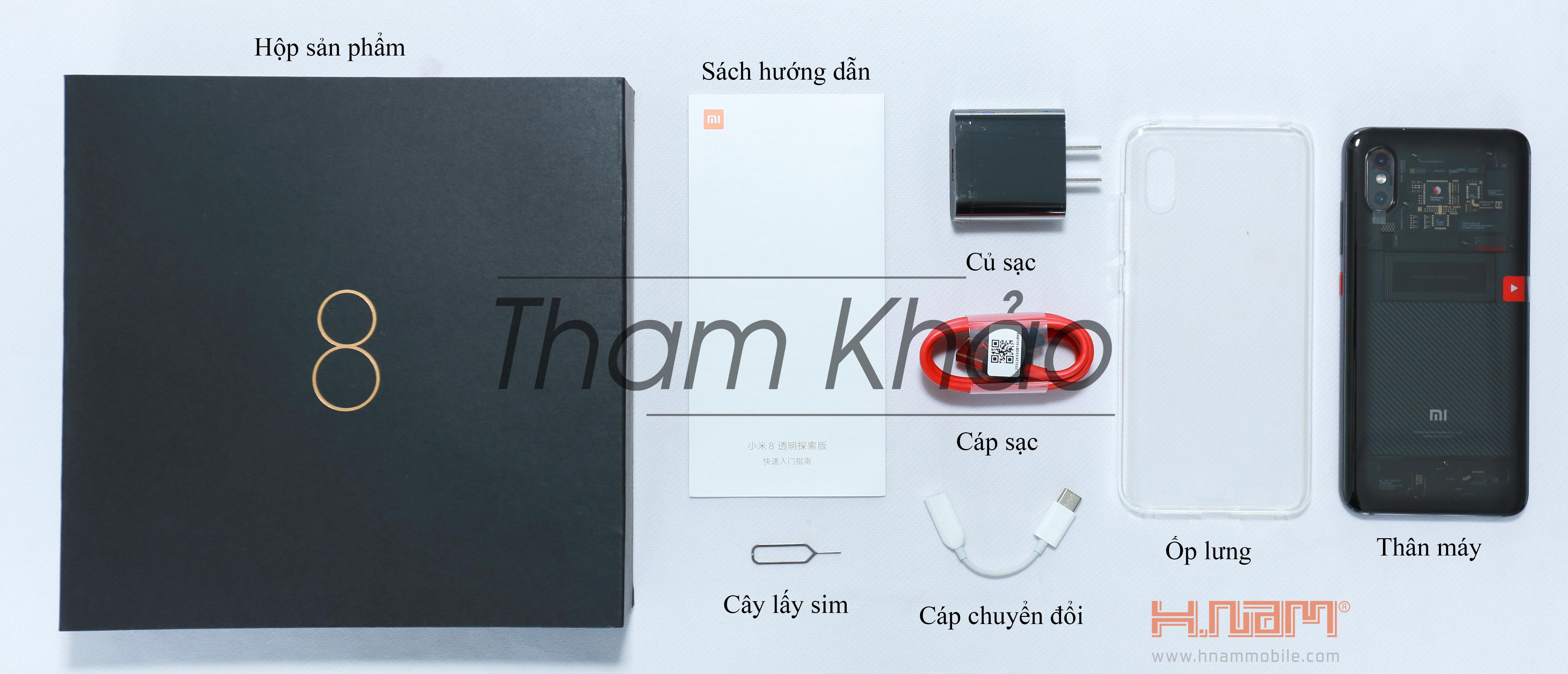 Xiaomi Mi 8 Explorer Edition 128Gb Ram 8Gb ( 17 Bà Hom ) hình sản phẩm 0
