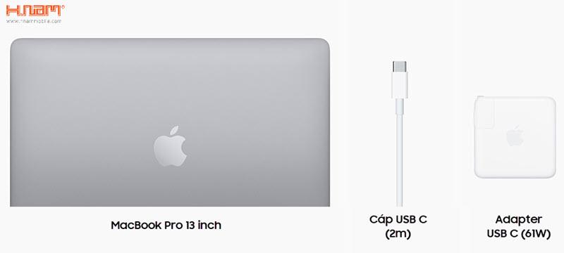 Macbook Pro 13 inch 256GB 2020 MXK62 Silver hình sản phẩm 0
