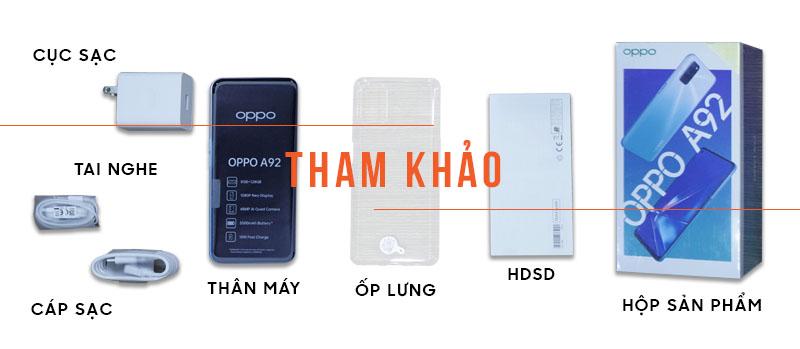 OPPO A92 128GB Ram 8GB ( Đã kích hoạt ) hình sản phẩm 0