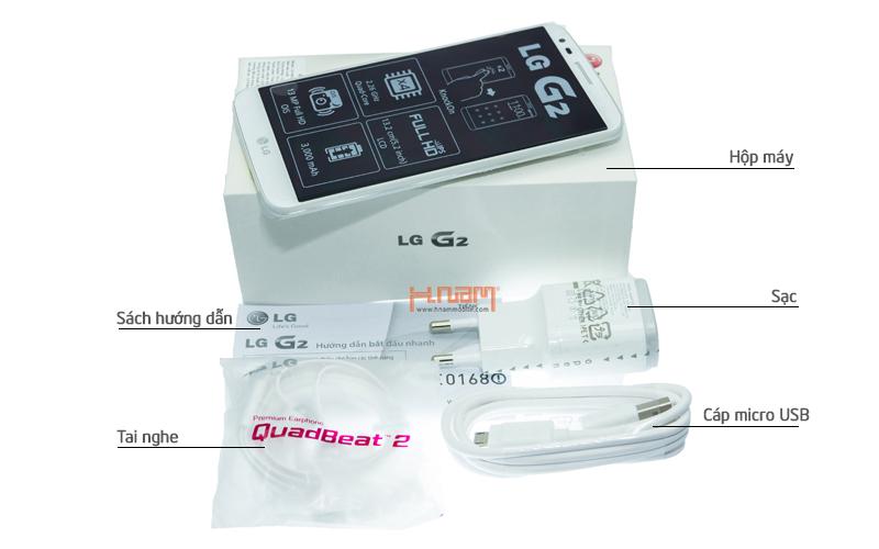 LG G2 D802 32Gb hình sản phẩm 0