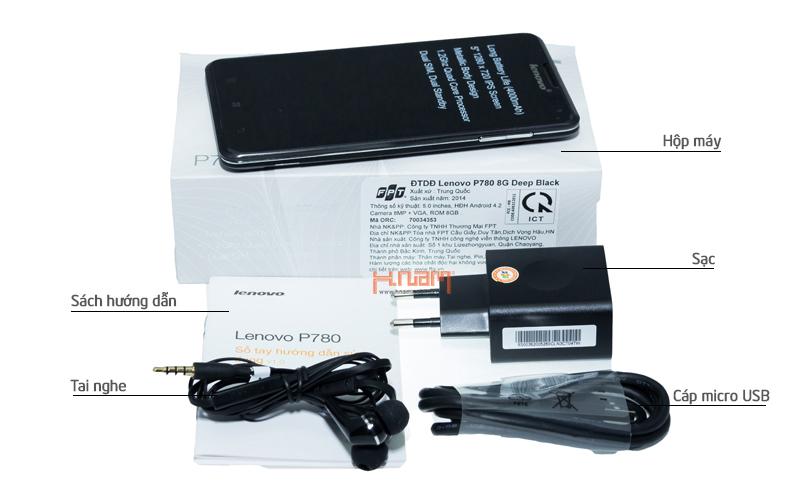 Lenovo P780 8Gb hình sản phẩm 0