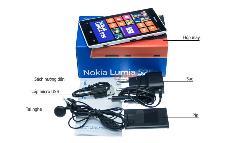 Nokia Lumia 525 hình sản phẩm 0