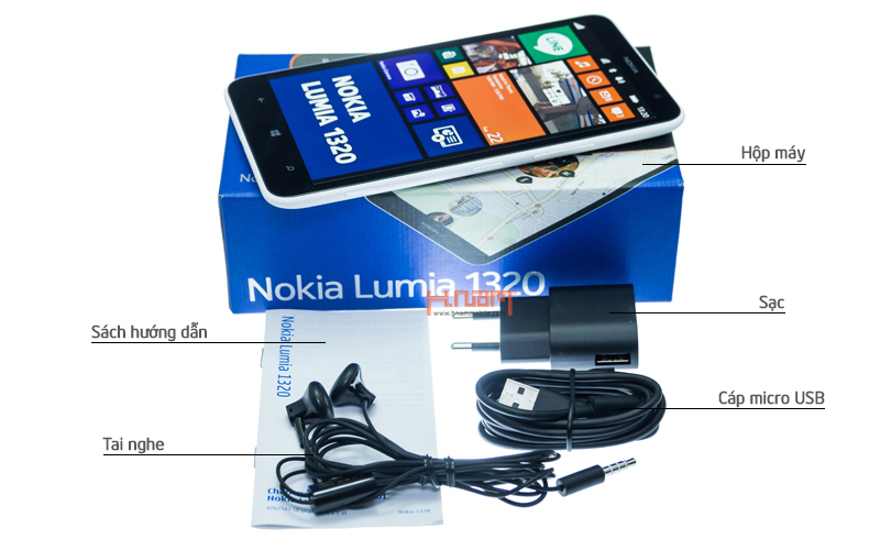NOKIA Lumia 1320 hình sản phẩm 0