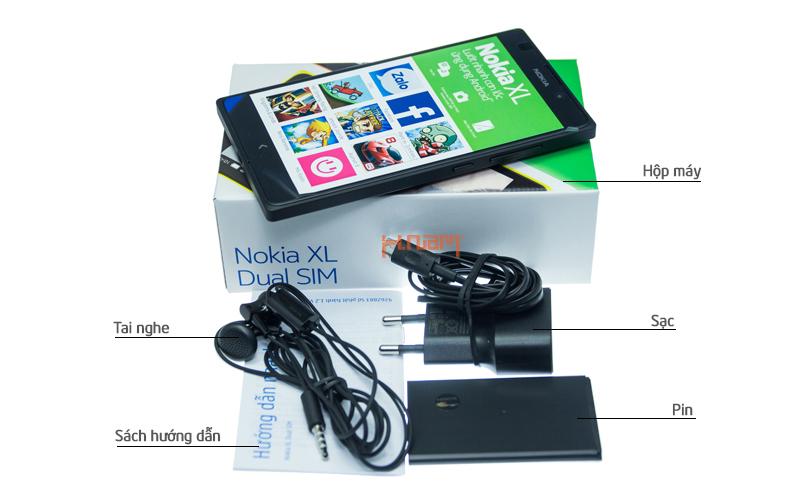 Nokia XL (RM-1030) hình sản phẩm 0