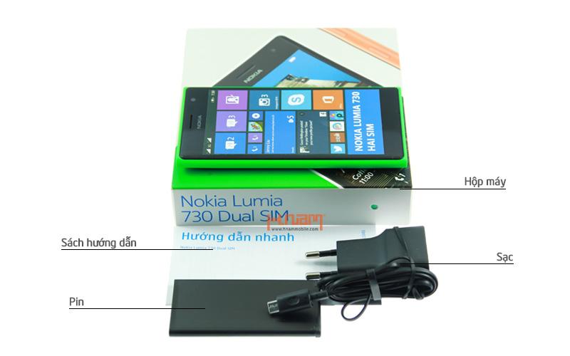 Nokia Lumia 730 Dual sim hình sản phẩm 0